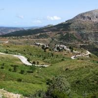 montagnes turques a moto