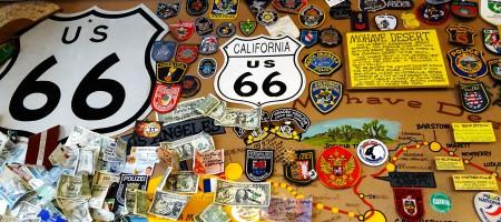 route 66 plaque