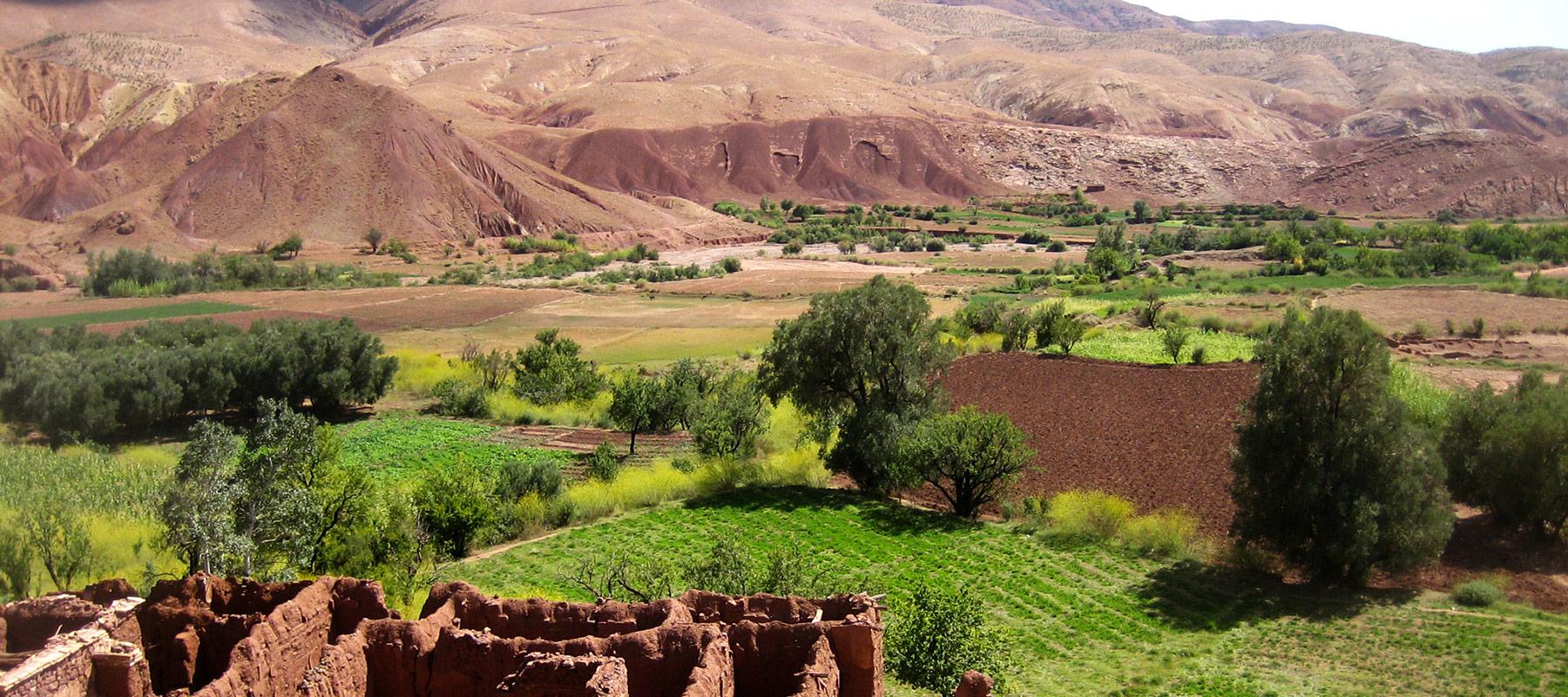 circuit en moto au maroc dans le desert