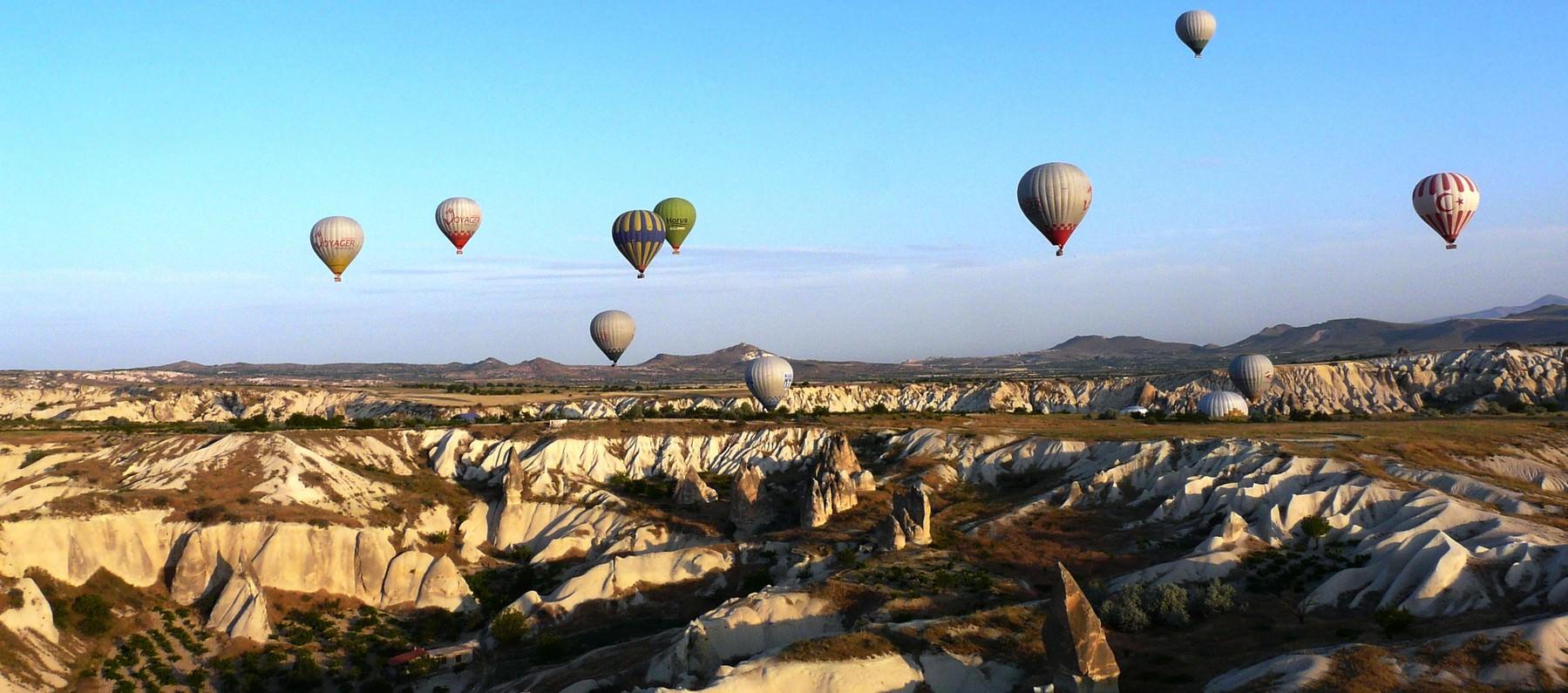 cappadoce et monts taurus
