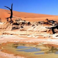 circuit moto désert namibie
