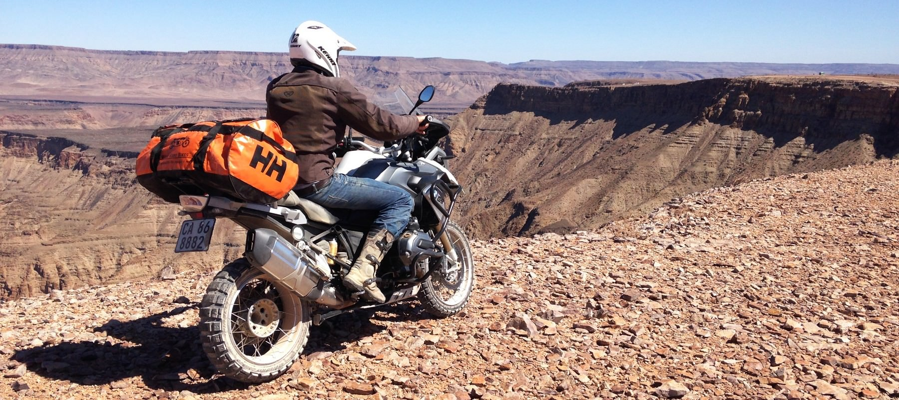 voyage a moto en namibie