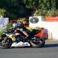 Tourist Trophy virage moto ballacraine île de man