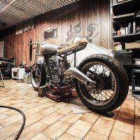 Préparation de moto