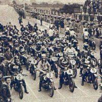 Départ du Tourist Trophy 1926