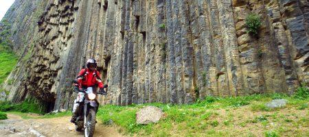trip armenie moto