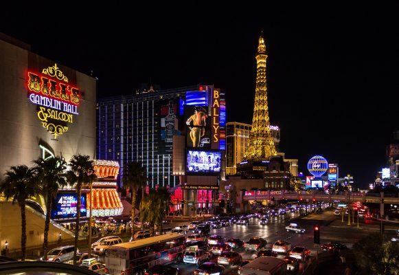 Las Vegas à moto