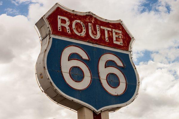 Symbole Route 66