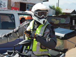 Sécurité à moto