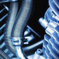 moteur de moto de course