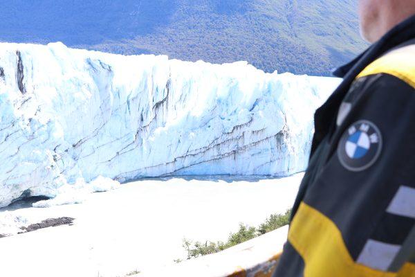 dans les glaciers du Chili
